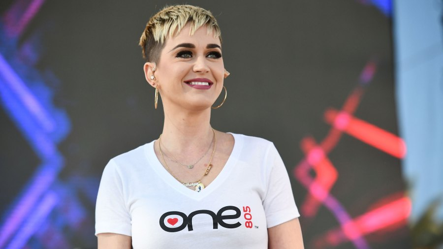 katy perry short blonde hair cut
