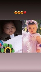 Kylie Jenner, Stormi, Baby Picture, Instagram