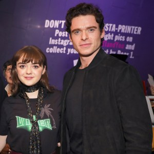 'Game of Thrones' Stars Maisie Williams and Richard Madden Have a Very Cuddly Reunion