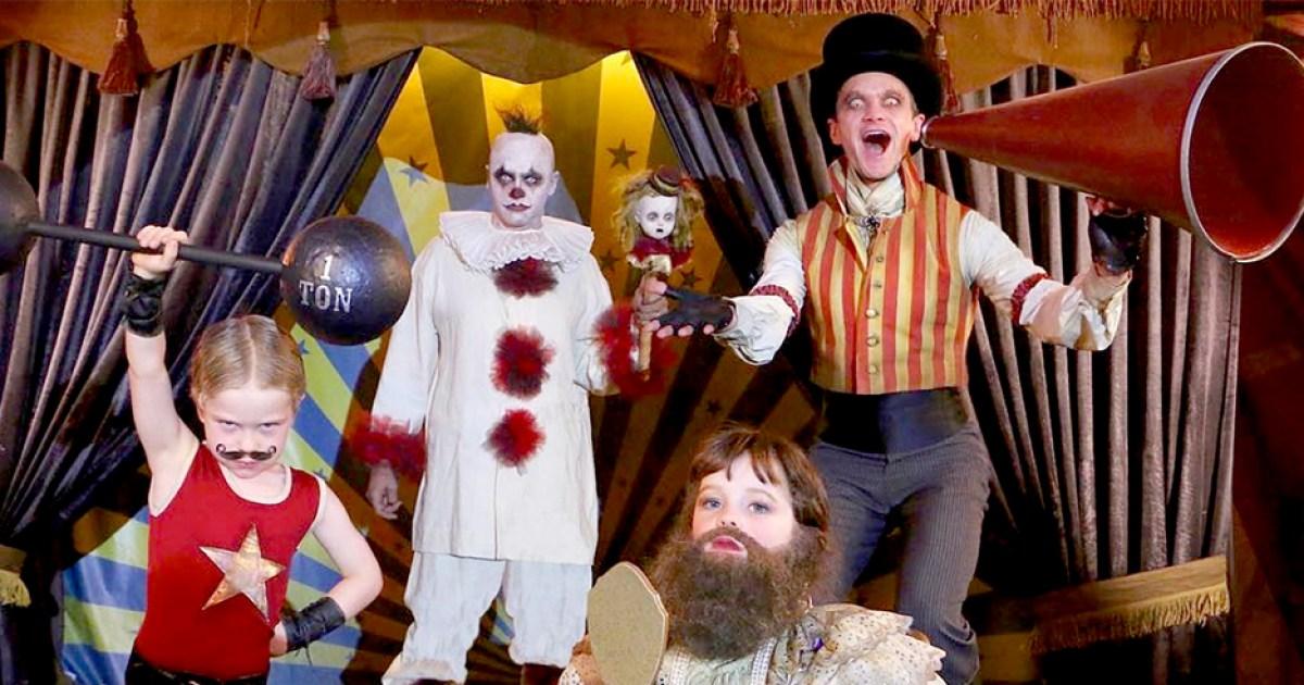 Neil Patrick Harris Family Halloween Costumes Pics