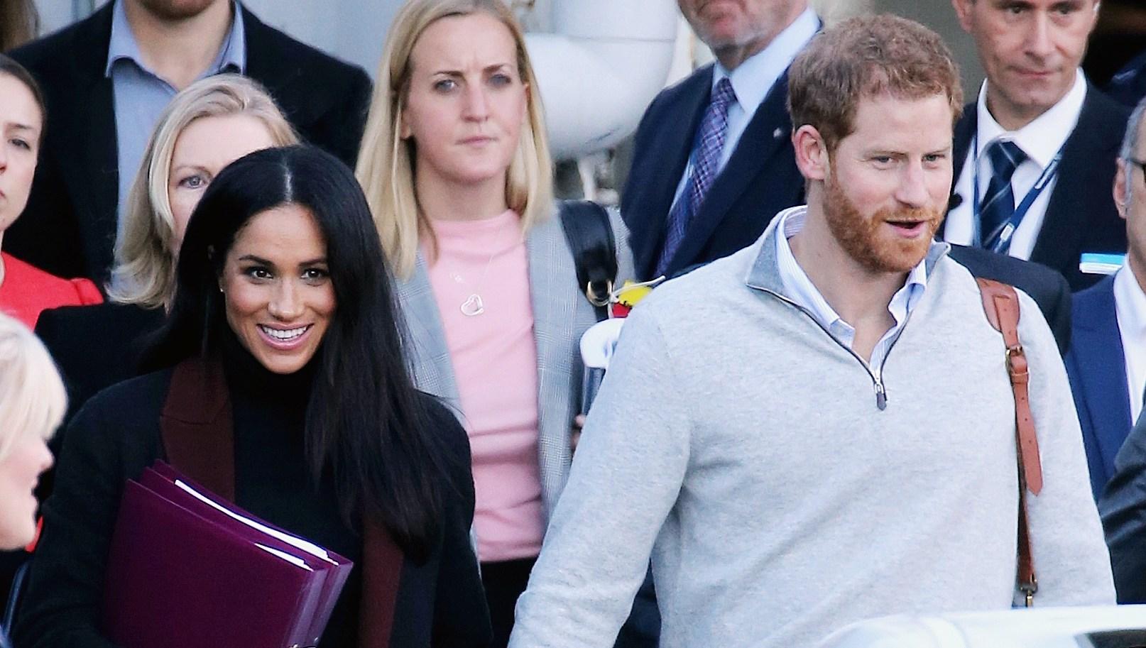 Prince Harry Duchess Meghan Pregnant