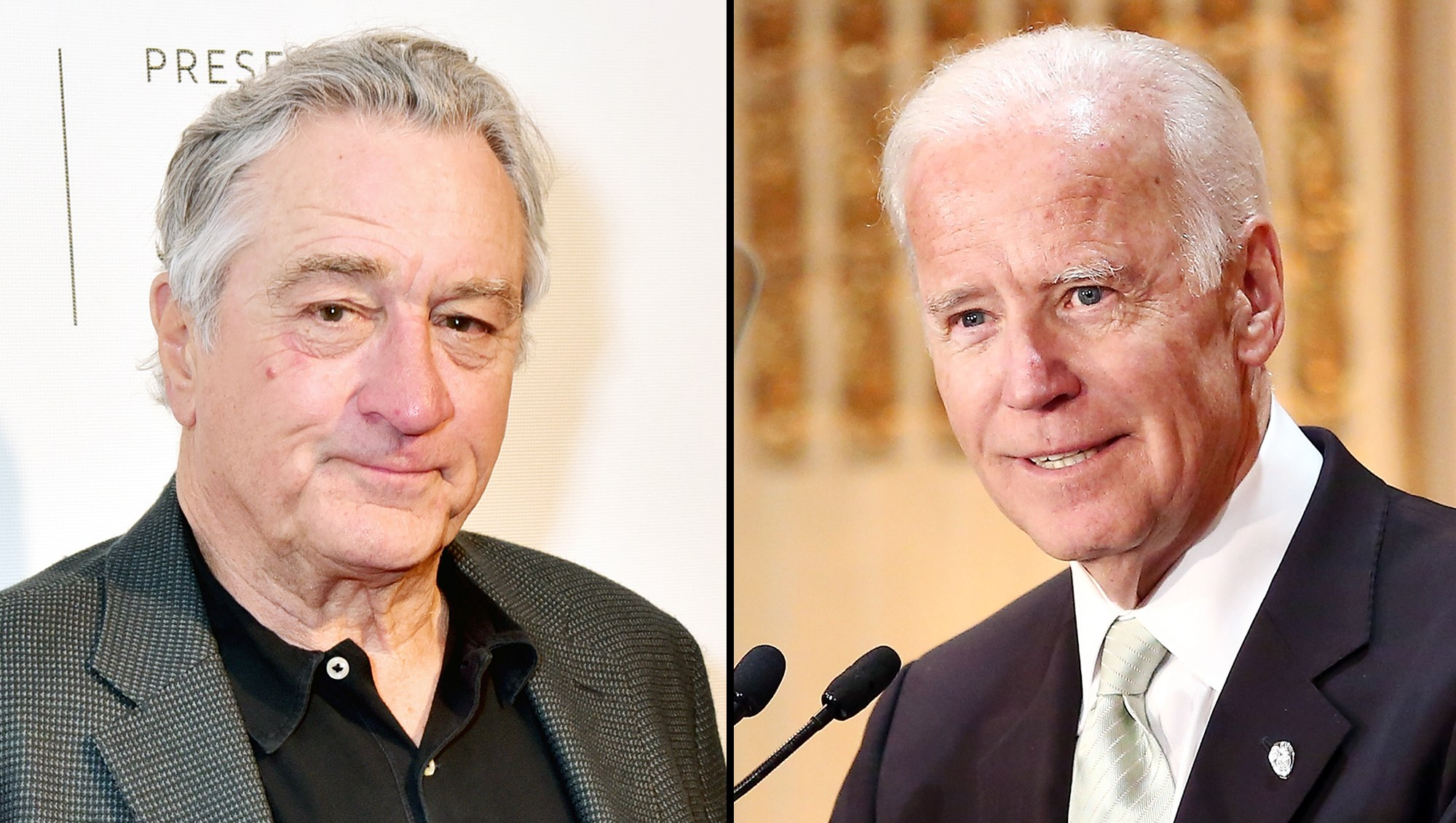 Robert De Niro Joe Biden Suspicious Packages