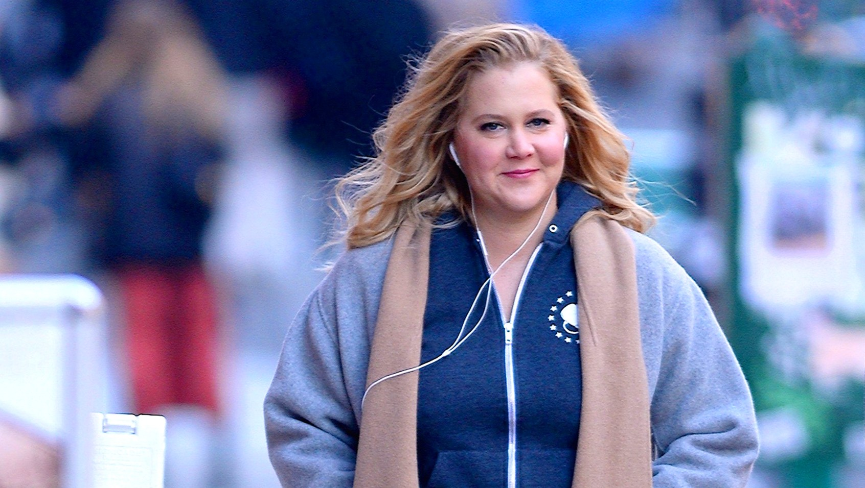 Amy Schumer seen out walking in SoHo on October 25, 2018