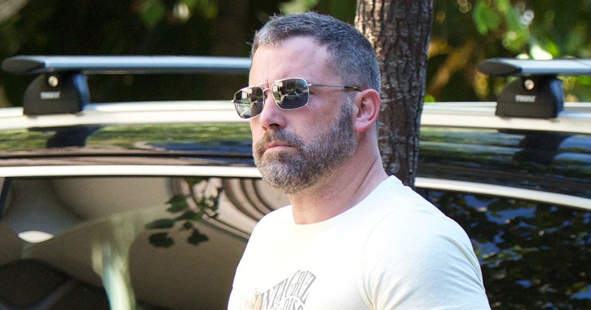 cda16807e8997 Ben Affleck Looks Buff and Healthy During Rehab Stint