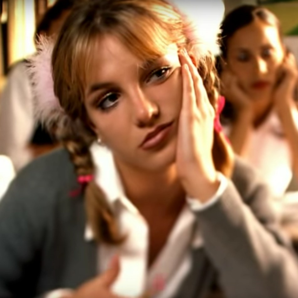Britney Spears in '...Baby One More Time'