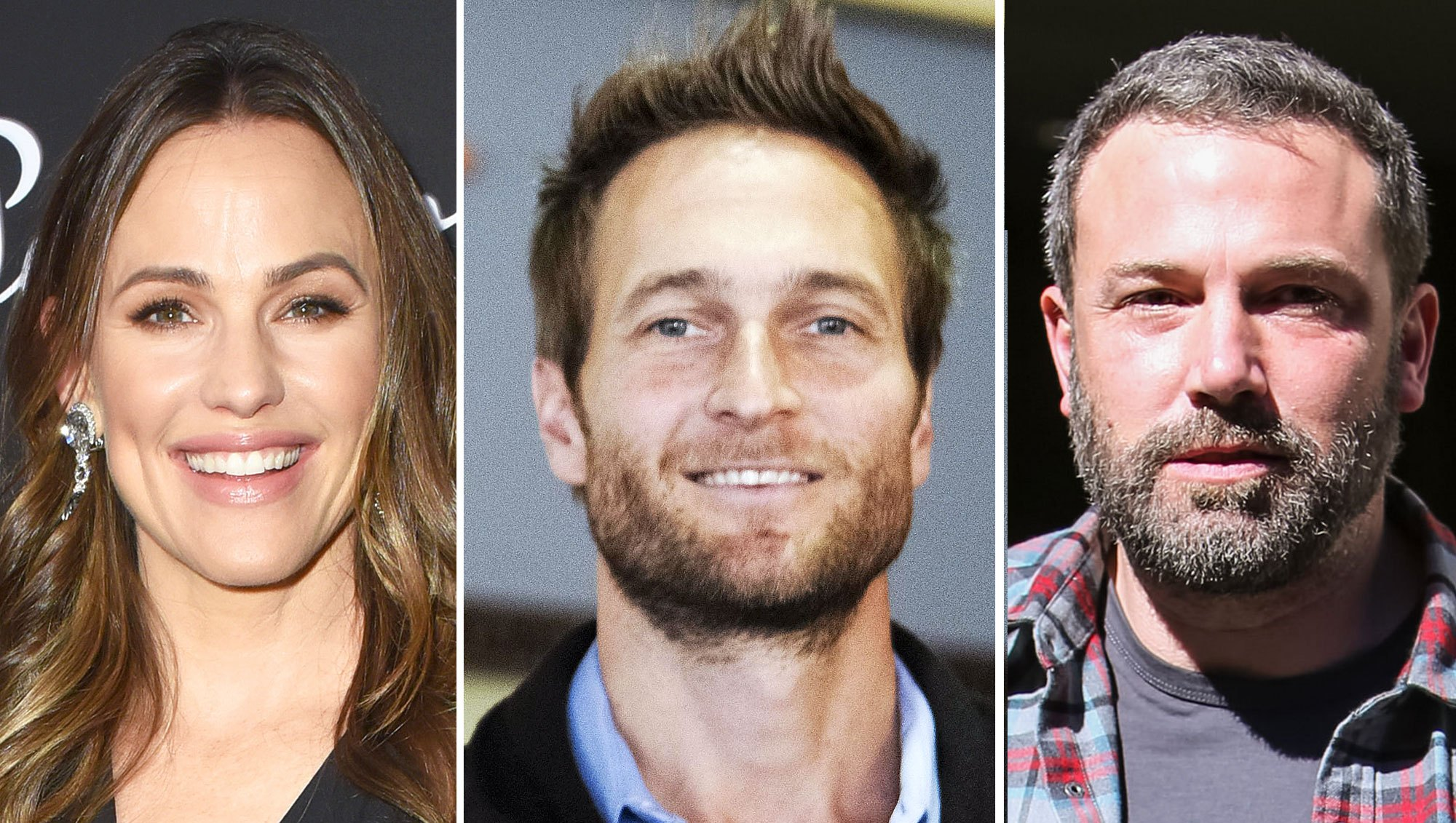 Jennifer Garner, John Miller and Ben Affleck