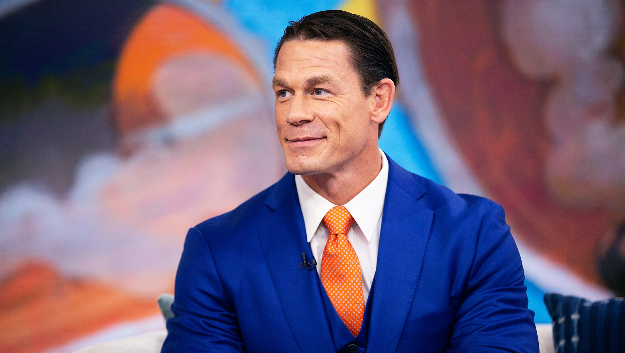 John Cena's New Haircut Has Fans Confused