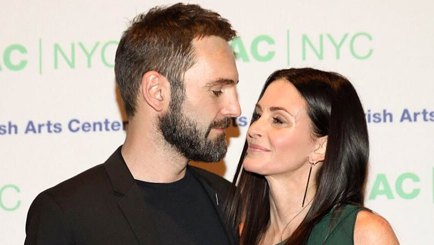Johnny McDaid Courtney Cox