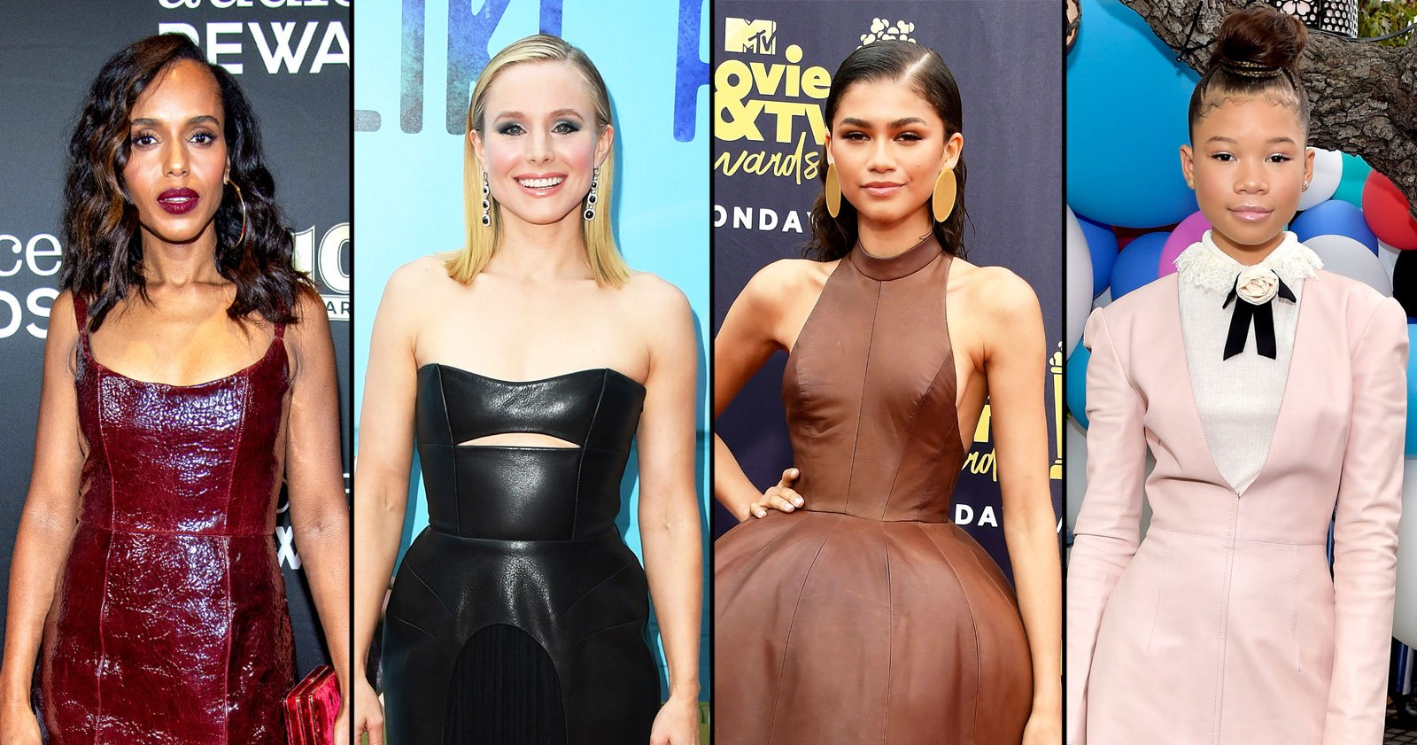 It's Leather Dress Weather! See 10 Top Celeb Red Carpet Looks