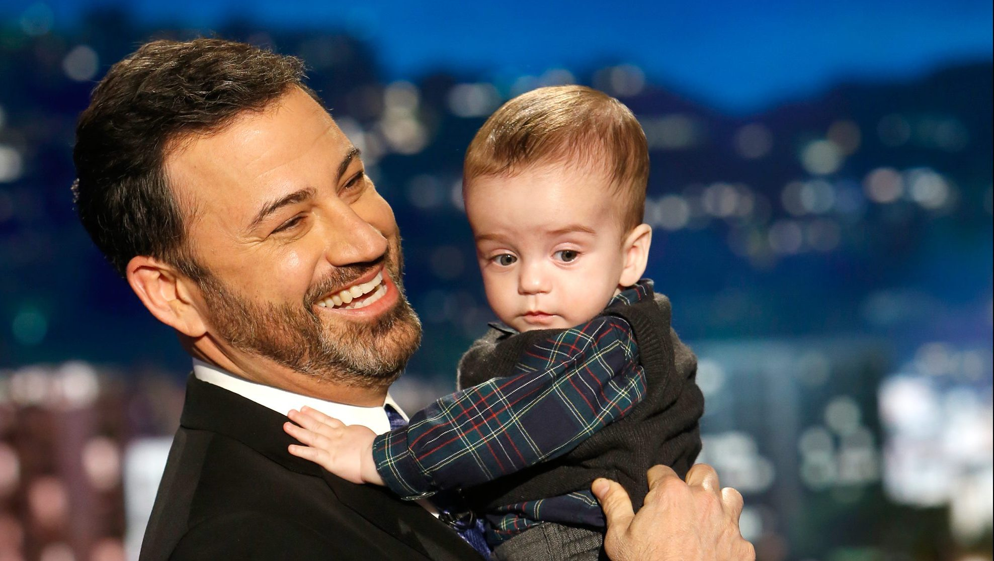 Jimmy Kimmel and son, Billy