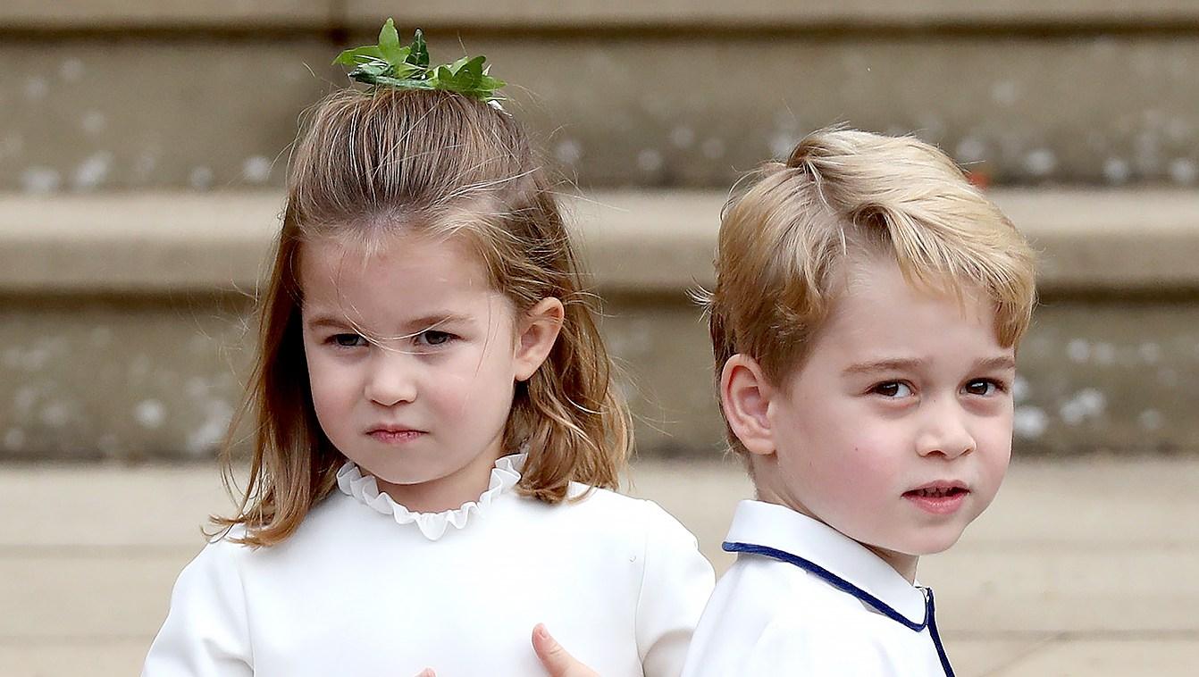 prince-george-princess-charlotte-eugenie-wedding