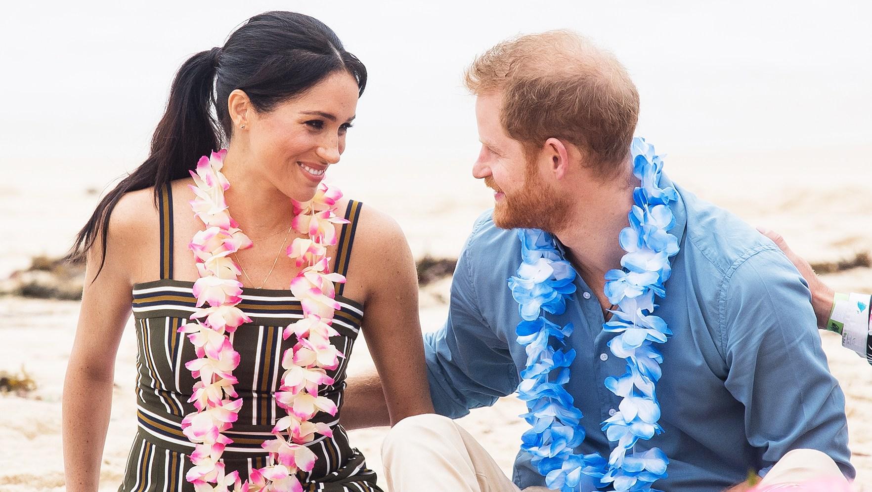 Prince Harry Duchess Meghan Bondi Beach