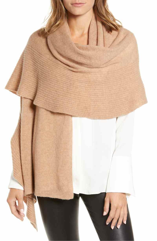wrap shawl ruffles