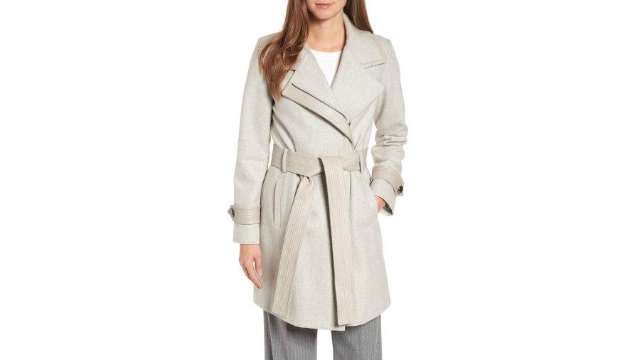 badgley mischka coat