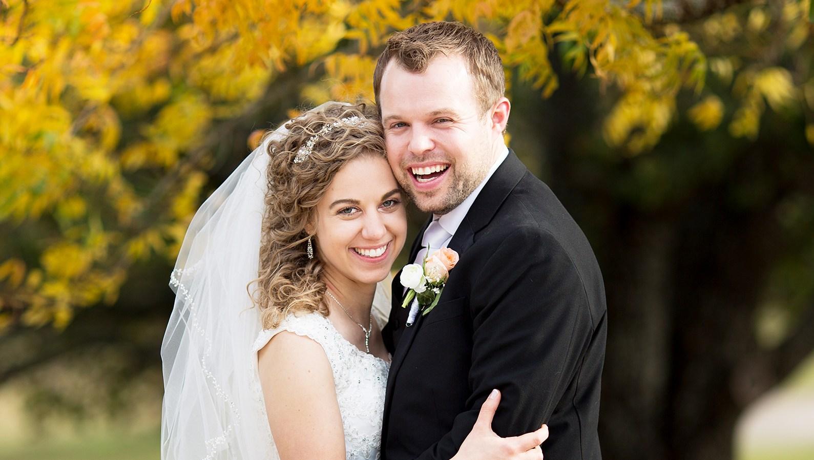 Abbie Grace Burnett John David Duggar Wedding