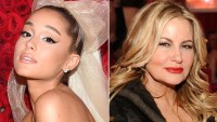 Ariana Grande and Jennifer Coolidge
