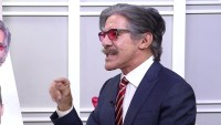 Watch Geraldo Rivera Play a Hilarious Game of Pin the Mustache on the Celebrity