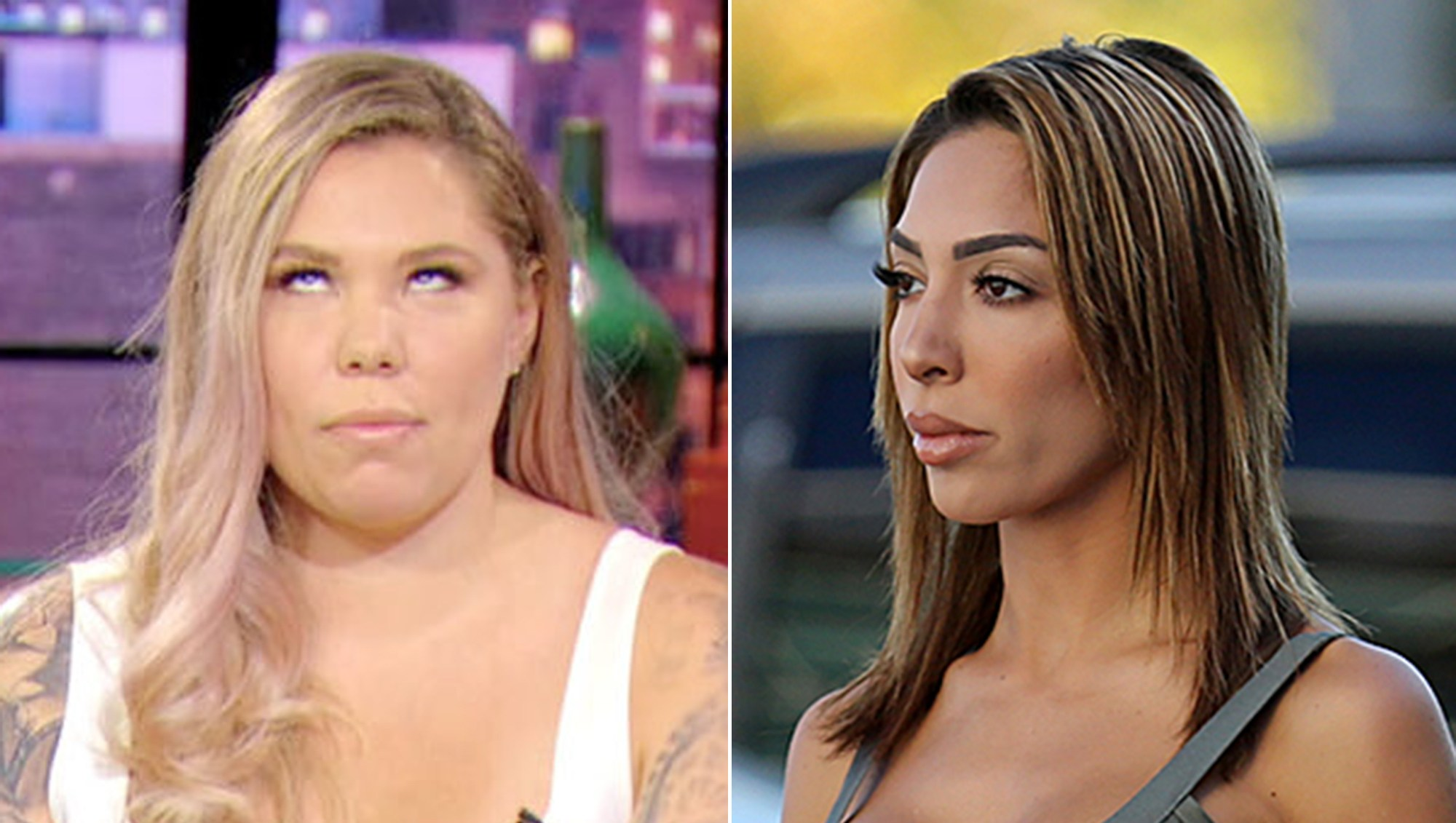 Kailyn Lowry Wants to Fight Farrah