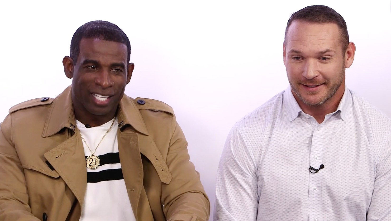 NFL Legends Deion Sanders and Brian Urlacher Weigh in on Celebrities in the News