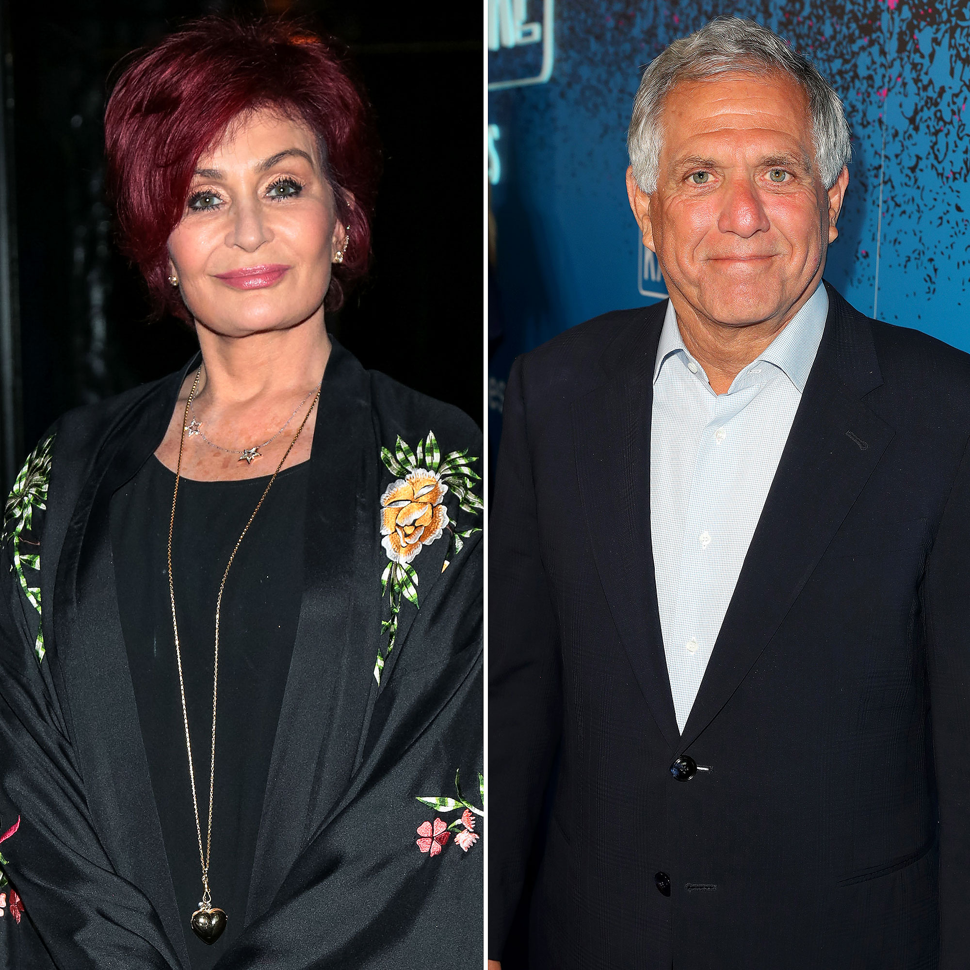 Sharon Osbourne Les Moonves