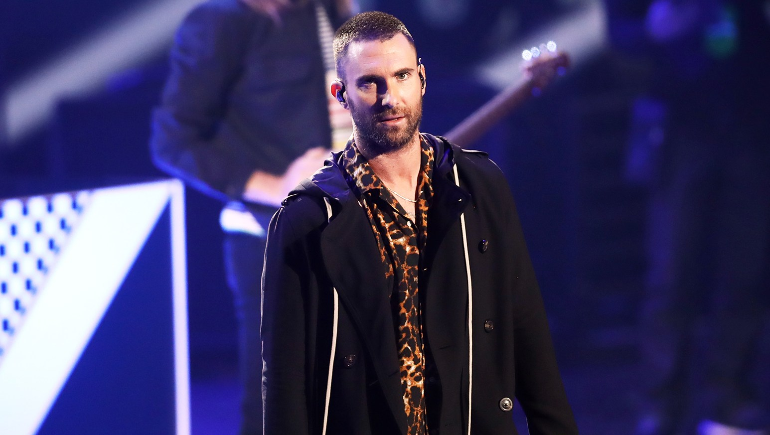 Adam Levine Plays Coy About Maroon 5's Super Bowl Halftime Gig