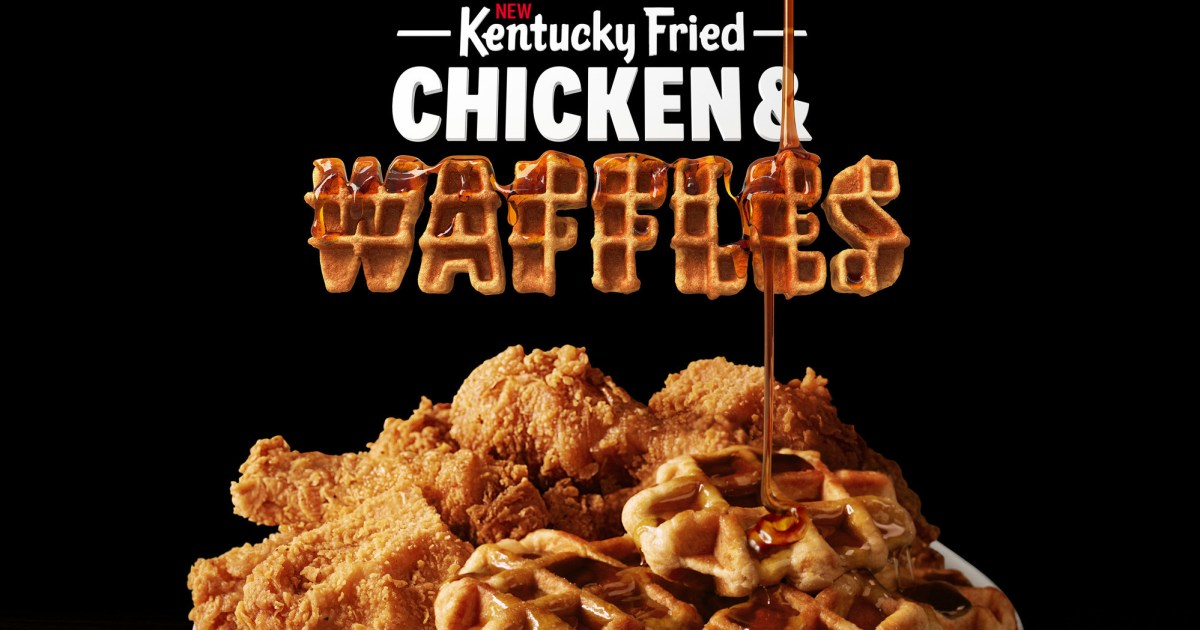 Kfc Is Now Serving Chicken And Waffles Twitter Loves It