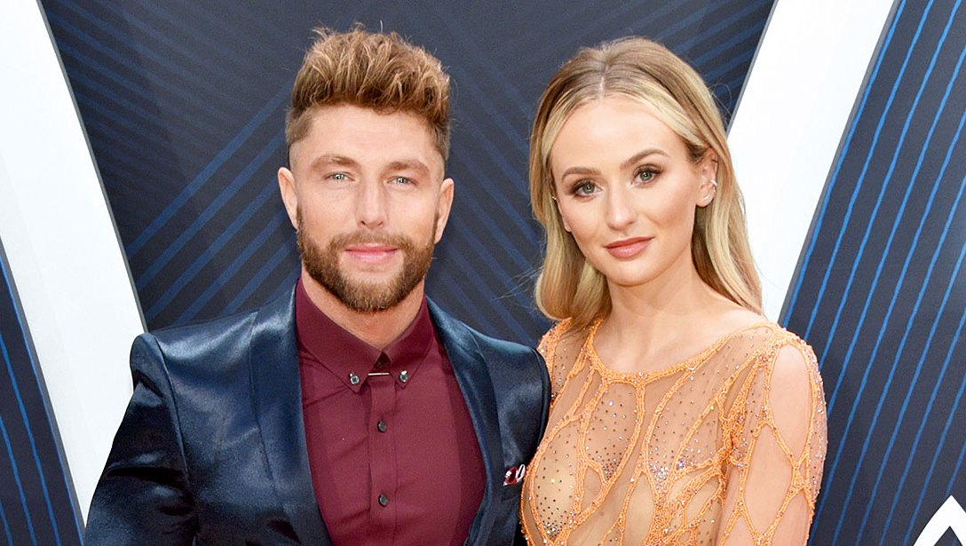 Lauren Bushnell Chris Lane CMAs 2018