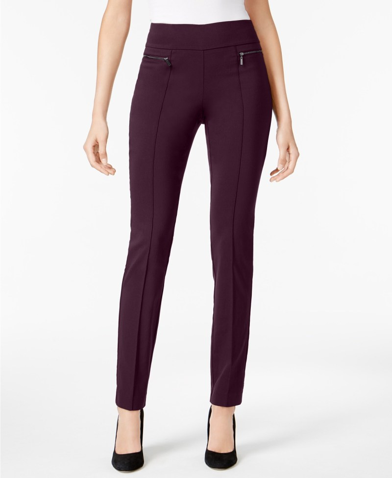 dark grape pants style & co macy's