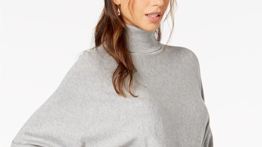 granite poncho sweater