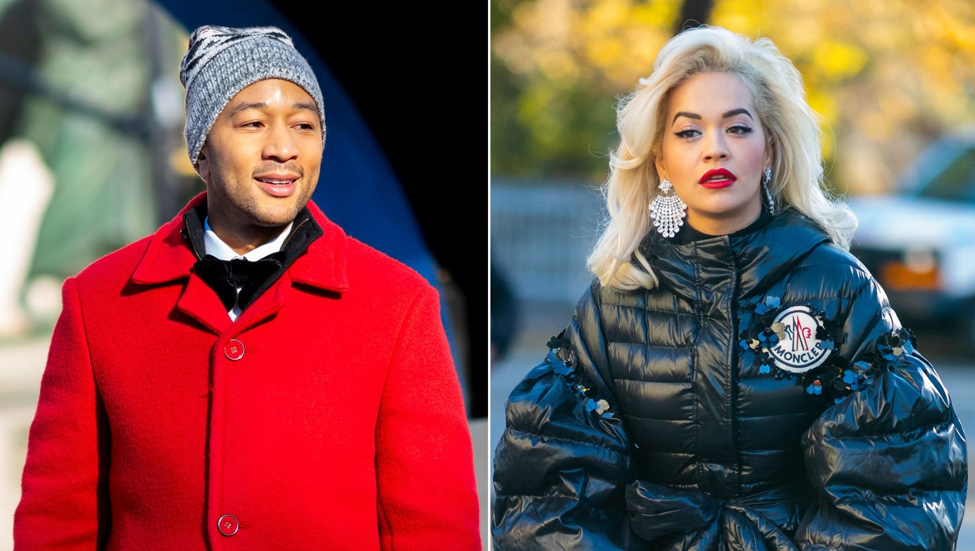 John Legend Defends Himself, Rita Ora After Macy's Day Parade Backlash