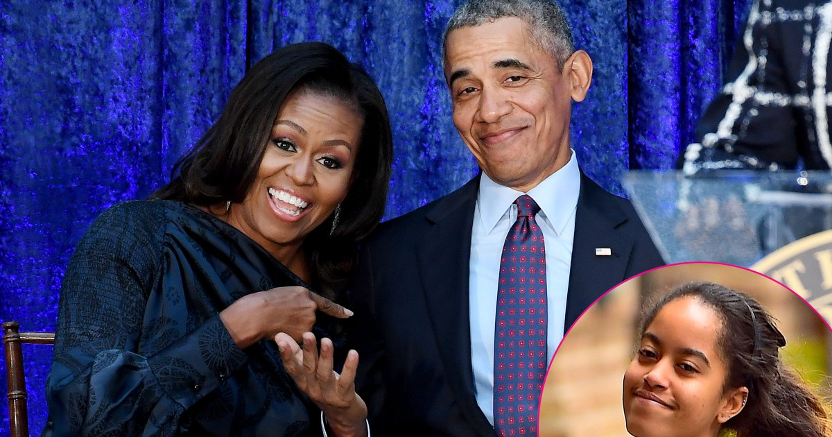 Malia Obama Asked Barack Michelle To Be Cool On Her
