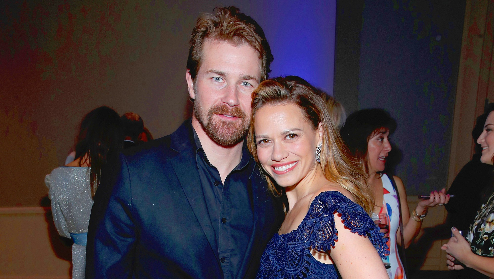 Josh Kelly and Bethany Joy Lenz