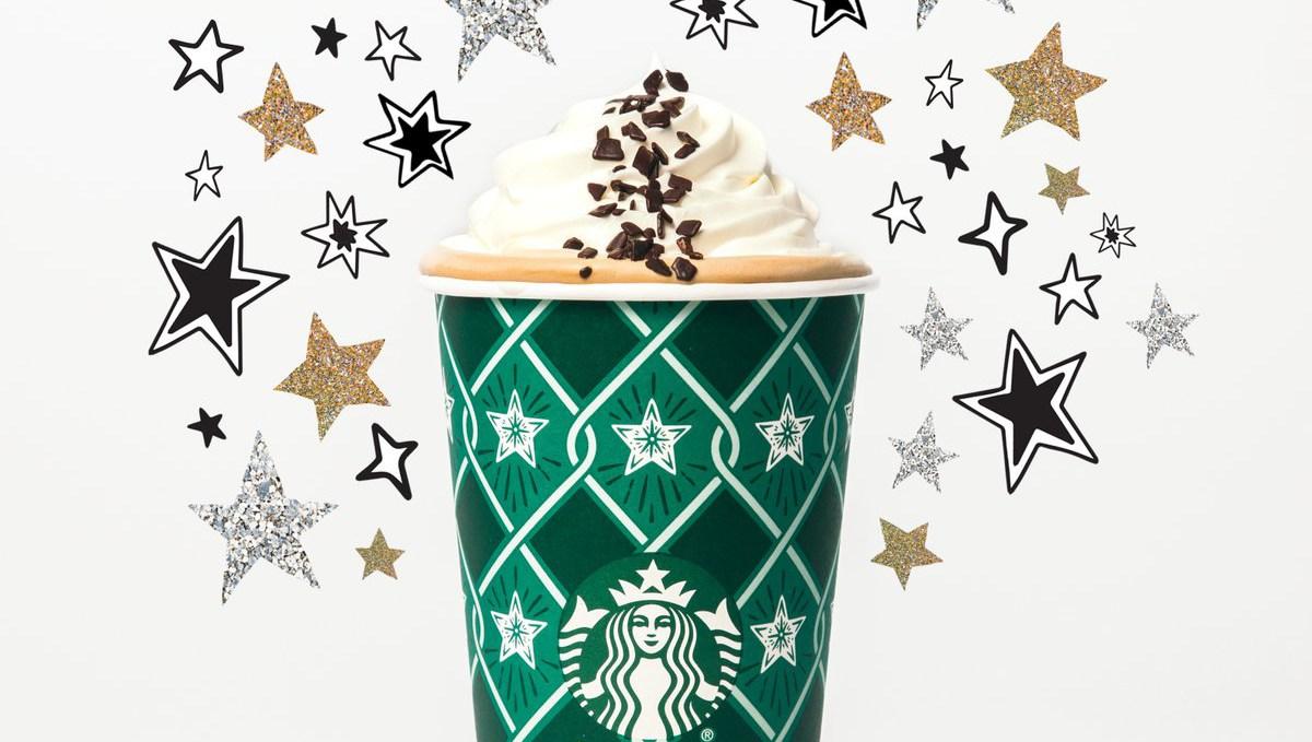 Starbucks' Black and White Mocha Collection