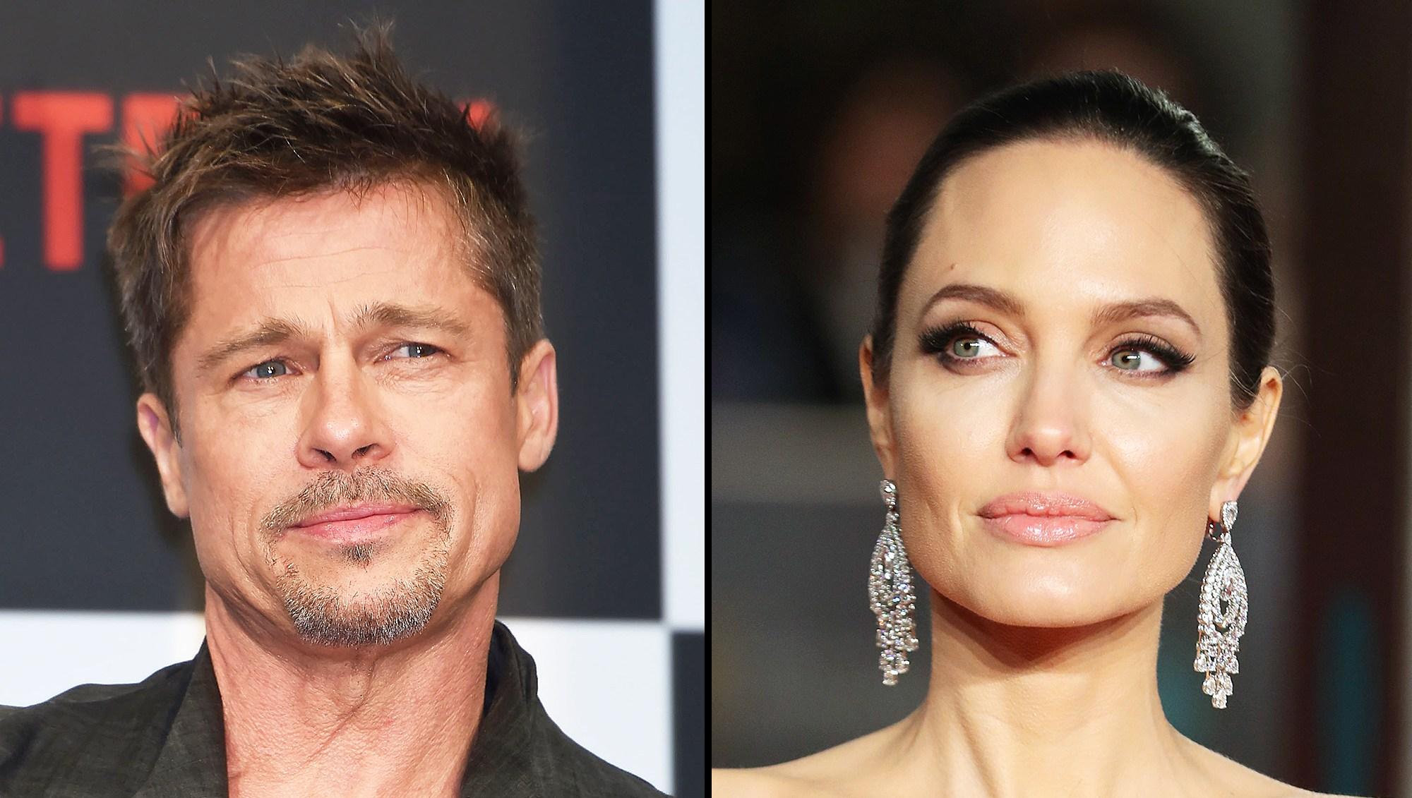Brad Pitt Angelina Jolie Custody Battle Tension Kids