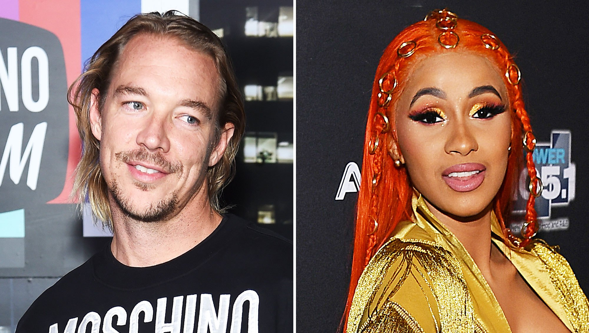 Diplo Leaves a Flirty Comment on Cardi B's Instagram After Her Split From Husband Offset