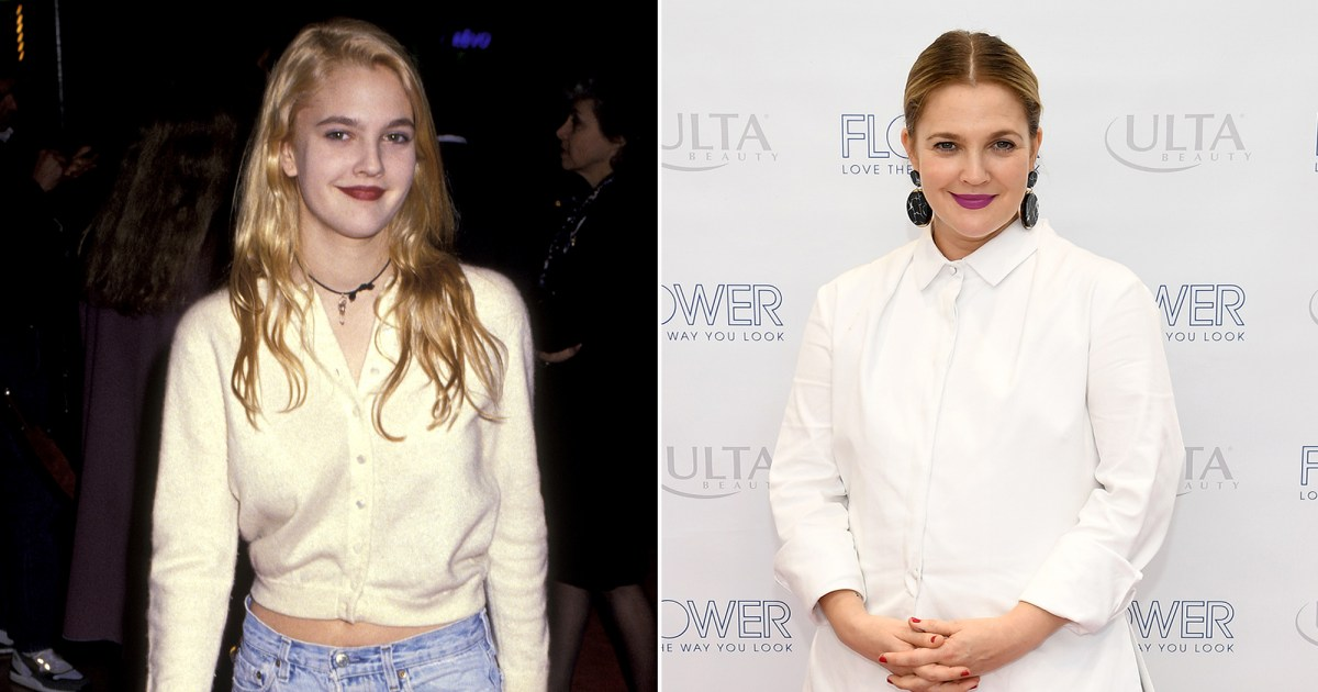 Drew Barrymore's Body Evolution: See How She's Changed From 1990 to 2018