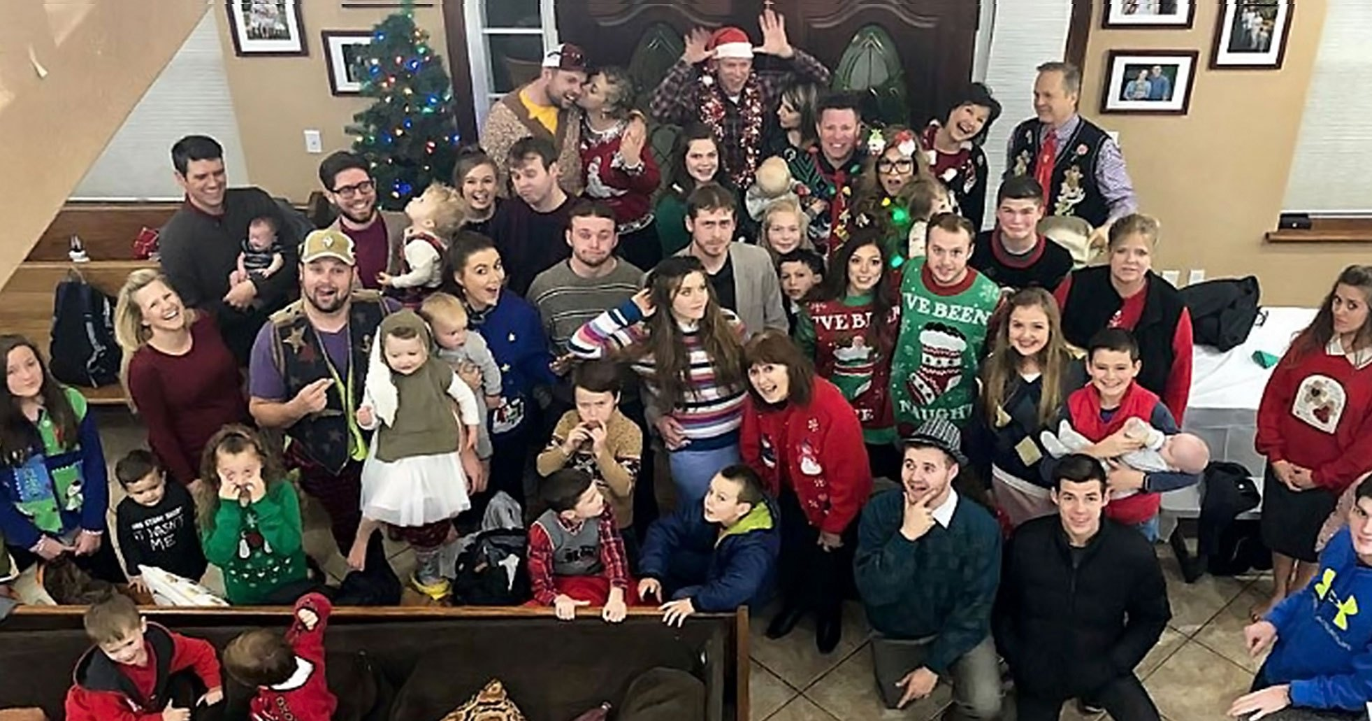 Duggar Family Has First Ugly Christmas Sweater Party Pics
