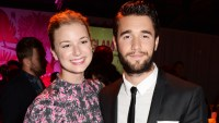 Emily VanCamp Josh Bowman Celebrate First Christmas Married Couple