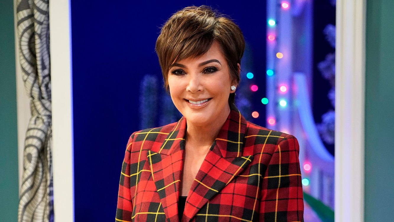 Kris Jenner Shows Off Massive Gingerbread House Featuring Names of Her Family Members