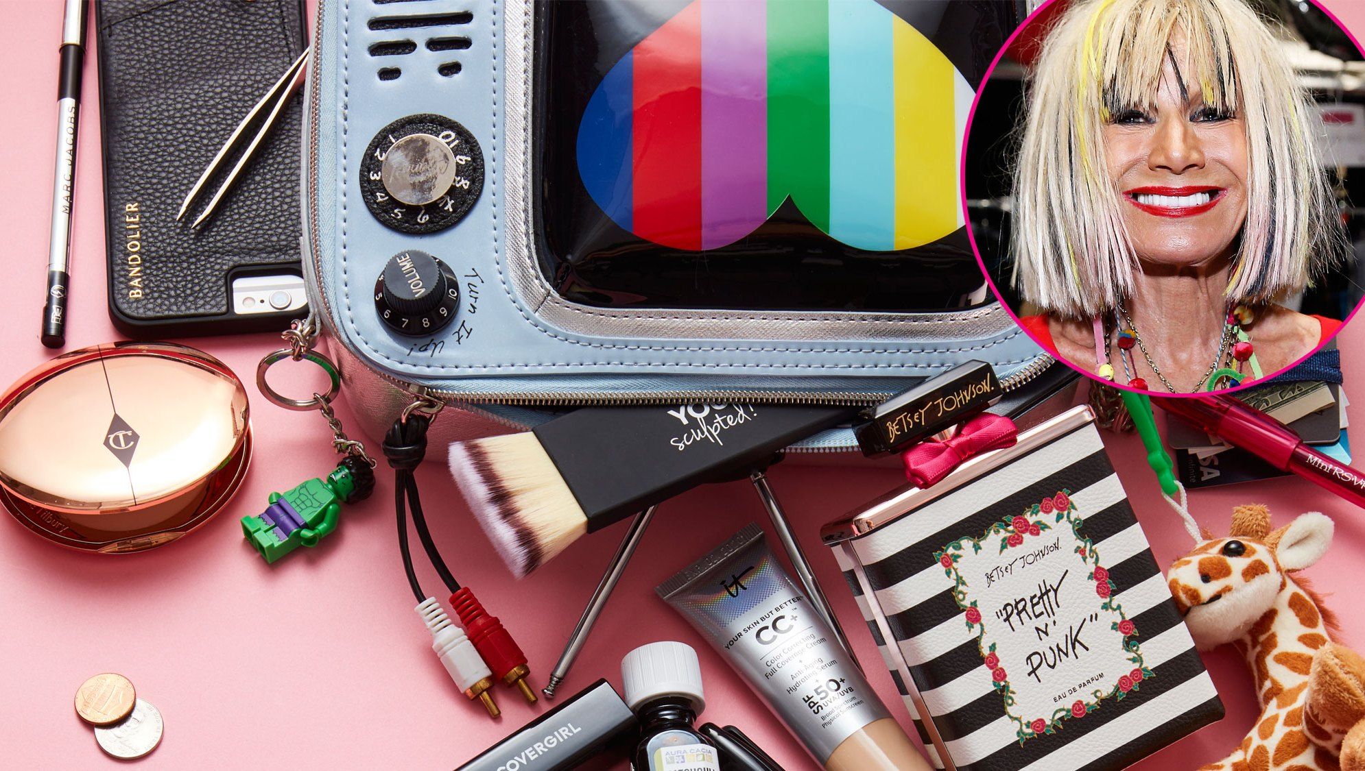 Betsey Johnson: What's in My Bag?