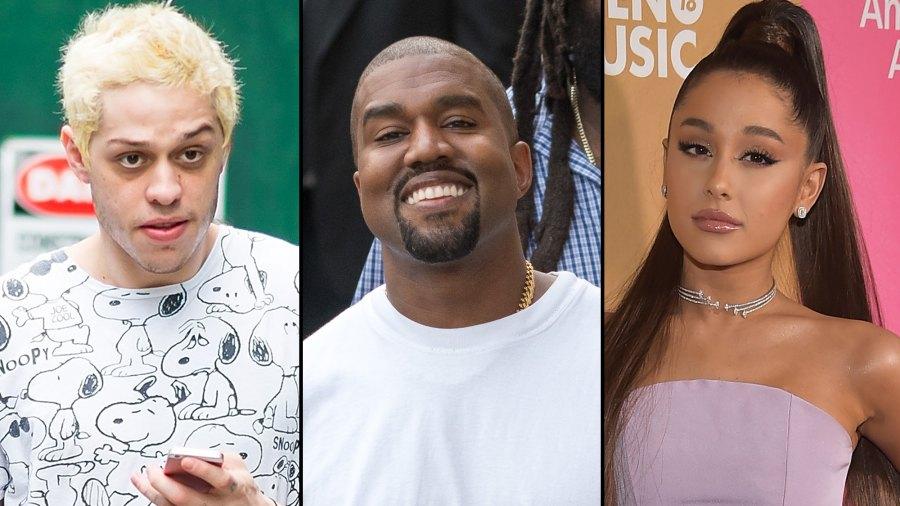 Pete Davidson Kanye West comments Ariana Grande