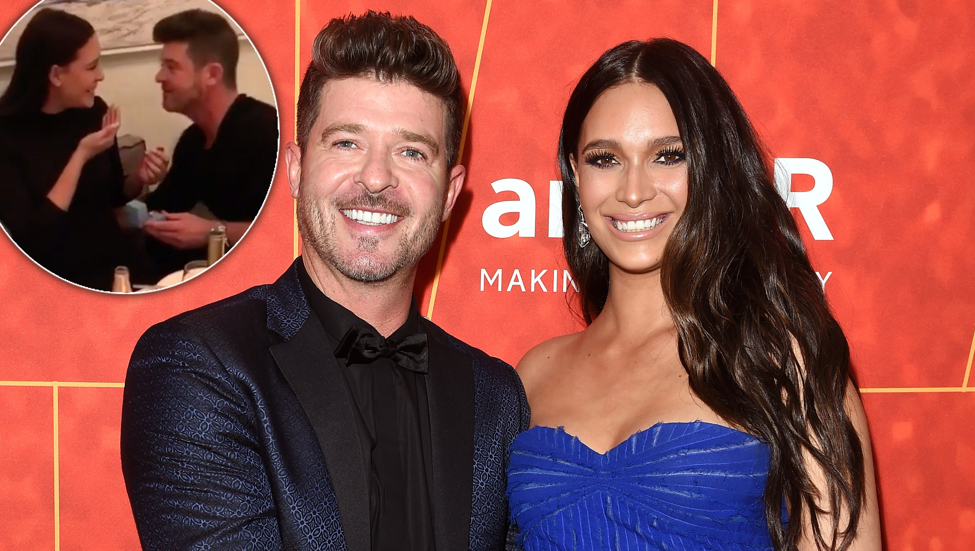 Robin-Thicke-and Girlfriend-April-Love Geary-Are Engaged
