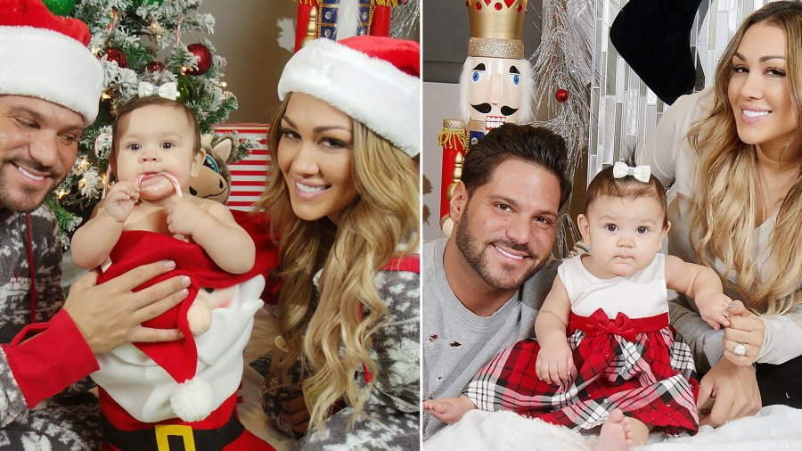 Ronnie Ortiz-Magro and Jen Harley Christmas Card Drama Aside