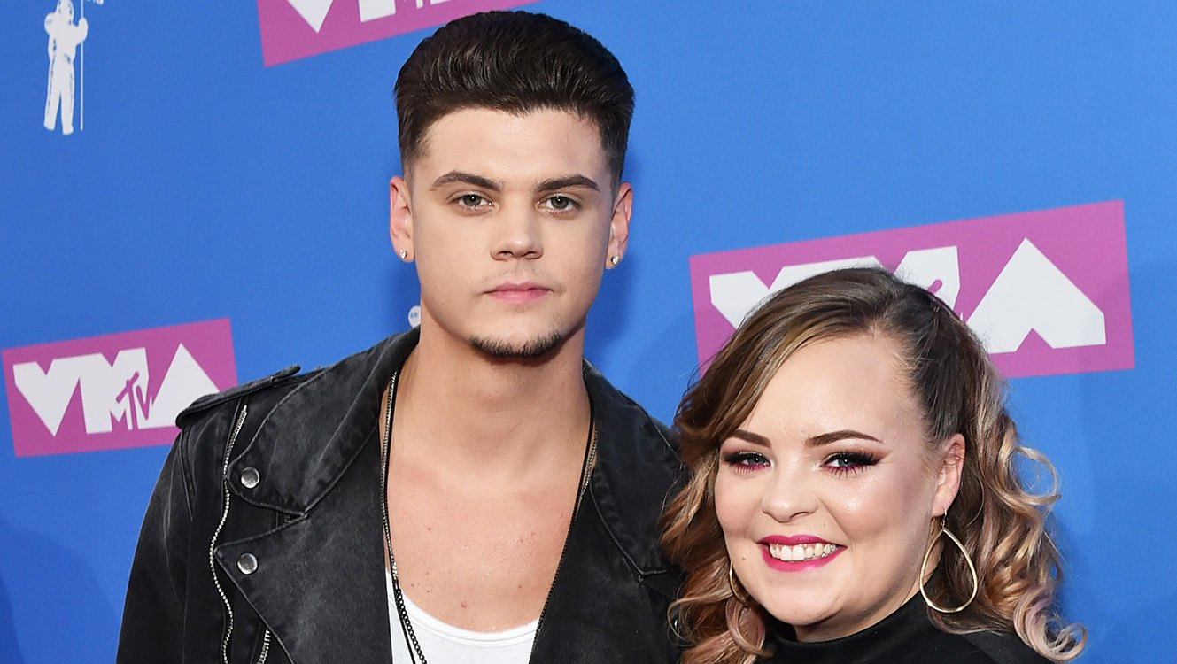 Tyler Baltierra and Catelynn Lowell