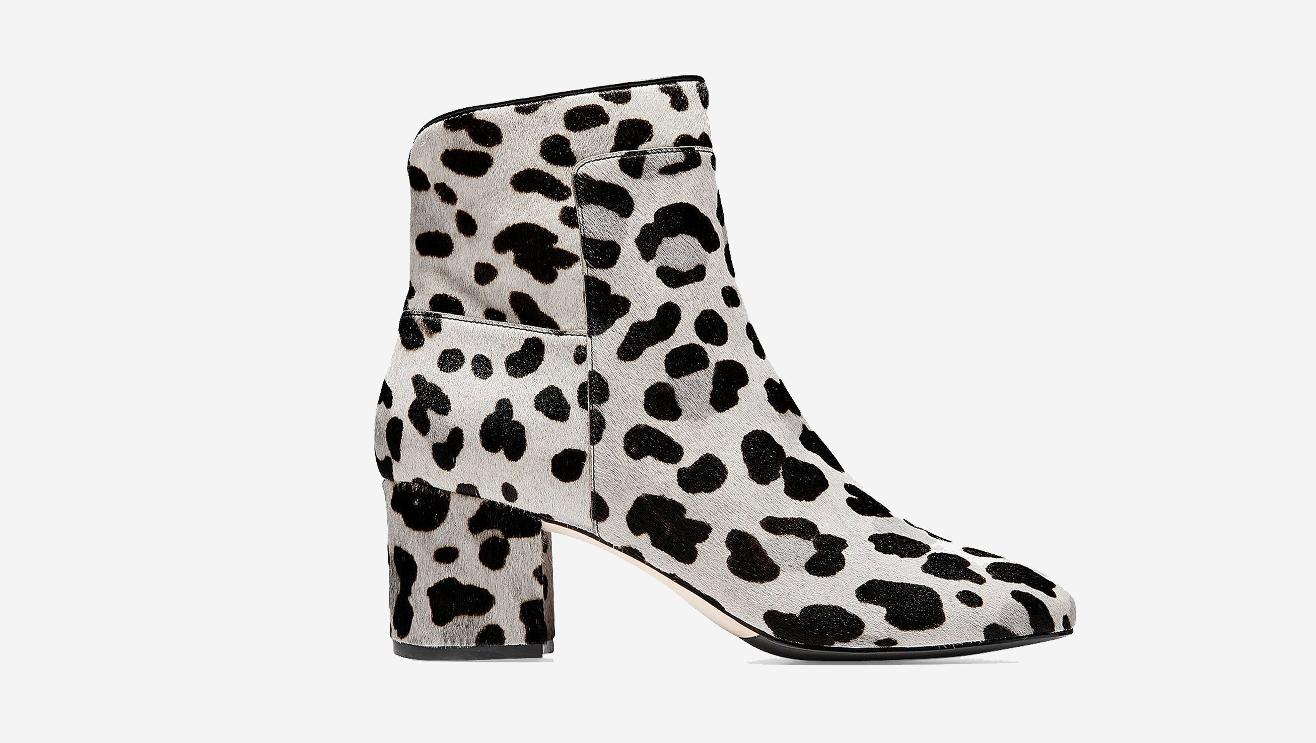 cole haan leopard print boots