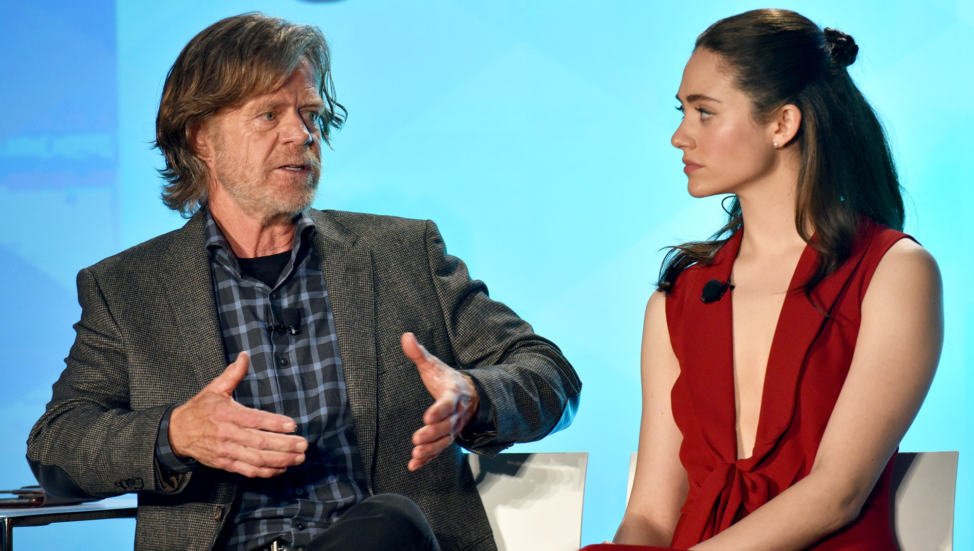 William H. Macy: 'I'm a Complete S--thole' Throughout the Entire Emmy Rossum Goodbye Episode on 'Shameless'