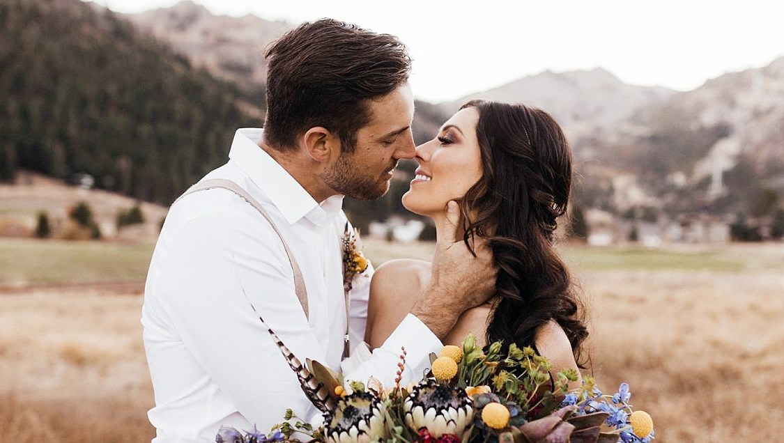 Becca Kufrin And Garrett Yrigoyen Stun In Pre Wedding Photoshoot