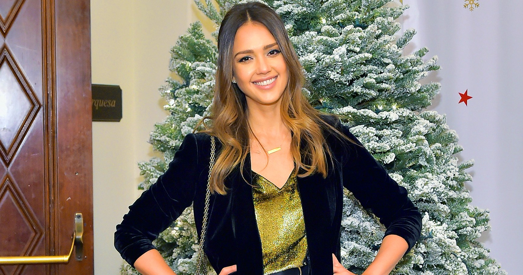 Jessica Alba's Mom Paid Off Christmas Gifts on Layaway