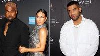 Kanye Takes Aim at Drake Again Over Kim K