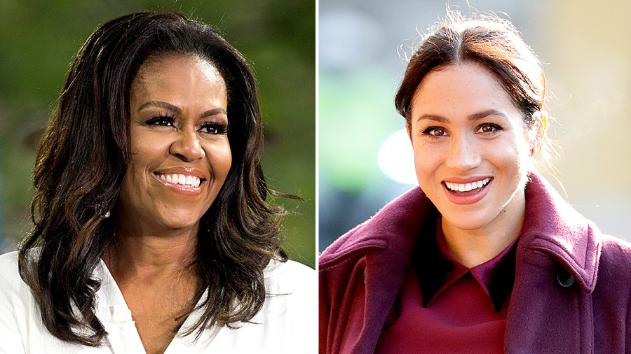 Michelle Obama and Duchess Meghan